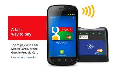 Google Wallet - Le paiement via NFC selon Google   MixTourismo   Scoop.it