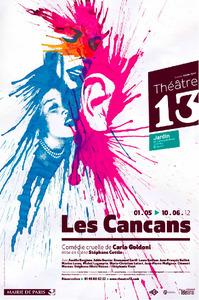 Les Cancans de Goldoni au Théâtre 13 - Lutetia : une aventurière à Paris | Paris Secret et Insolite | Scoop.it