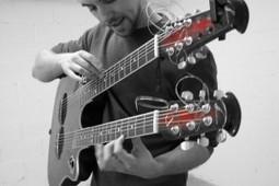 Mark Kroos, le pro de la guitare à deux manches | Apprendre la guitare | Scoop.it
