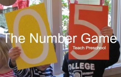 The number game | Teach Preschool | Scoop.it