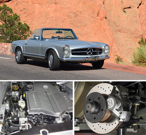 Improving the Pagoda? | Classic Mercedes | Scoop.it