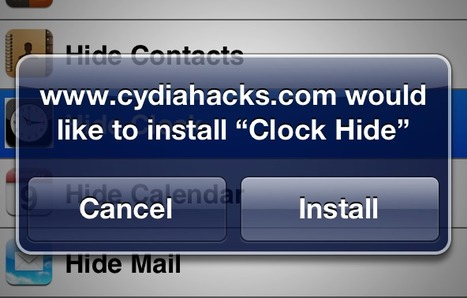 How To Hide Stock iOS Apps Without Jailbreaking Your Device -- AppAdvice | Slimmer werken en leven - tips | Scoop.it