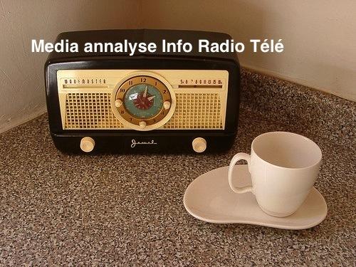 Media annalyse Info Radio Télé