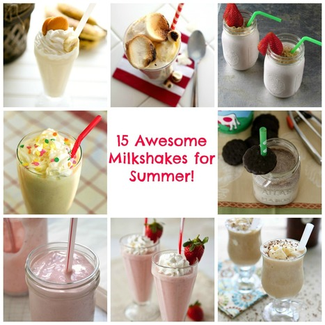EmildaWpa | Shake It! 15 Chilly Milkshakes for Summer - Babble | Emmy Photos | Scoop.it