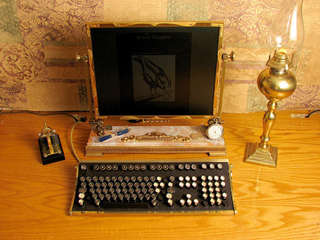 steampunk pc | Vulbus Incognita Magazine | Scoop.it