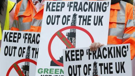 Grande Bretagne: appel à l'opposition nationale contre la fracturation hydraulique   STOP GAZ DE SCHISTE !   Scoop.it