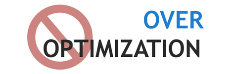 Over Optimization Can Get You into Trouble | SEO Company | SEO Services | Scoop.it