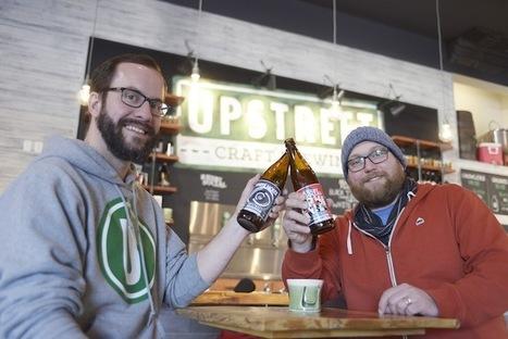 Upstreet Craft Brewing launches beer in Nova Scotia | Nova Scotia Business News | Scoop.it