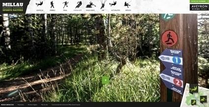 Millau : un nouveau site internet dédié aux sports de pleine nature | L'info tourisme en Aveyron | Scoop.it