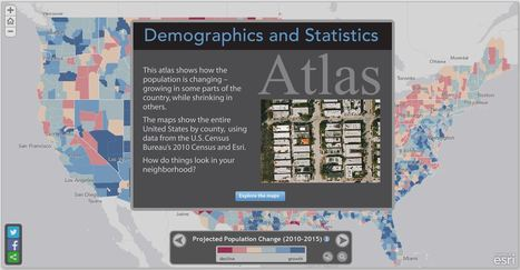 Demographic Atlas | Geography Education | Scoop.it