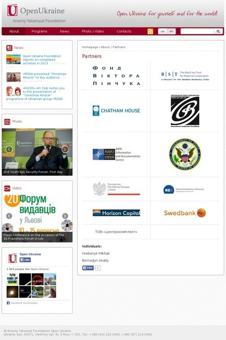 The Arseniy Yatsenyuk Foundation has disappeared #Yats #Ukraine #NATO #EU #US | Saif al Islam | Scoop.it