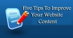 Five Tips To Improve Your Website Content | ClickCabin | click cabin | Scoop.it