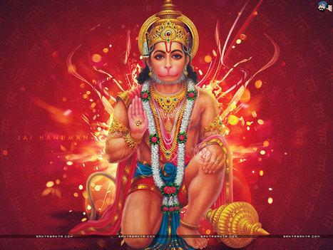 Hanuman Puja - Indo American News | Yantra Tantra Mantra | Scoop.it