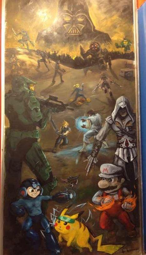 Epic Game Fan Art | World of Games | Scoop.it