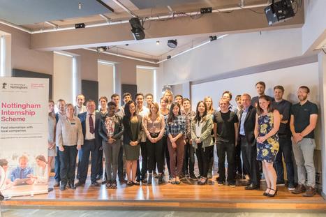 Record numbers benefit from University internship scheme — EAST MIDLANDS BUSINESS LINK | Sustainable Universities | Scoop.it