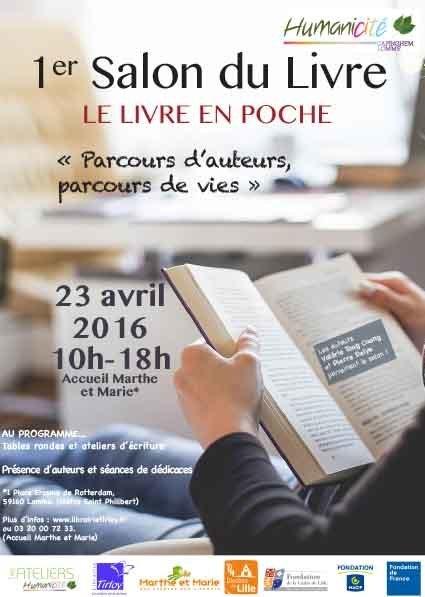 1er Salon du Livre le 23 avril   HUMANICITE - Actualités   Humanicité   Scoop.it