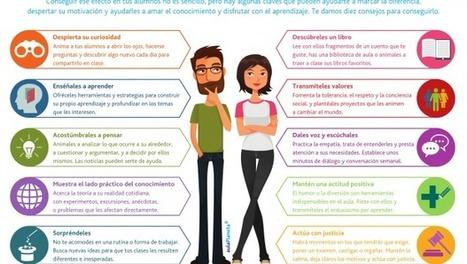 10-consejos-para-convertirte-en-un-profesor-inolvidable - Orientación Andújar - Recursos Educativos | Recull diari | Scoop.it