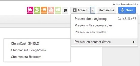 Google enables Drive presentation casting to Chromecast to all   Technology Today   Scoop.it