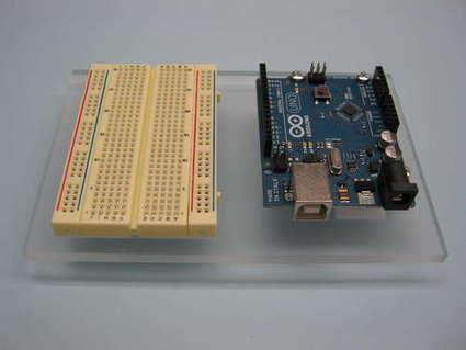 Acrylic Arduino Prototyping Stand   Arduino Focus   Scoop.it
