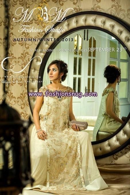 Maria Basit Malik Autumn Winter Collection 2013 For Women | Mes coups de coeur mode (si possible pour enfants) | Scoop.it