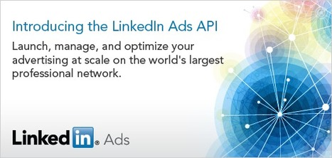 LinkedIn Opens Up Ad Interface With New API ... - Marketing Land | Internet Entrepreneurship Tips to Make Money Online | Scoop.it