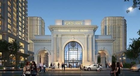 Chiêm ngưỡng cổng chào VMM Royal City tráng lệ | chung cu times city | Scoop.it
