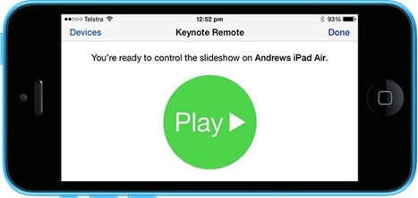 Remote-Control Keynote on iPad With Your iPhone | iPad classroom | Scoop.it