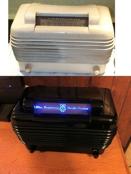 Turn a Vintage Radio into a Stylish Home Theater PC | Arduino, Netduino, Rasperry Pi! | Scoop.it