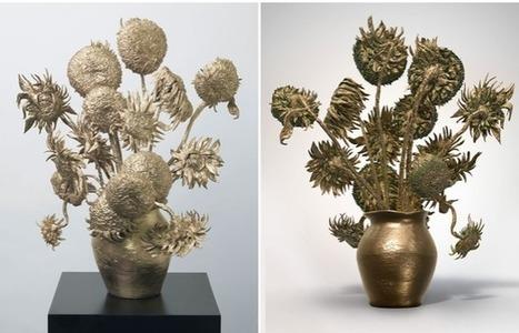 Les Tournesols de Van Gogh transformés en objet 3D - MonUnivers3D | 3D printing | Scoop.it