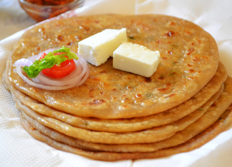 Aloo Paratha Recipe | How to make Aloo Paratha - Vegetarian | Cooking Recipes & Tips | Scoop.it