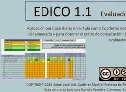 EDICO 1.1. Cuaderno para evaluar en competencias (José Luis Gutierrez) | Educació de Qualitat i TICs | Scoop.it