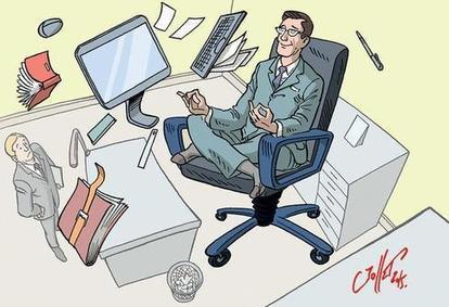 Méditer au travail favorise le bien-être - la Nouvelle République | La pleine Conscience | Scoop.it