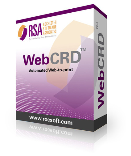 Rochester Software Associates Launches New WebCRD Web to Print Software for In-Plants at Print 13 | In-Plant News & Resources | Scoop.it
