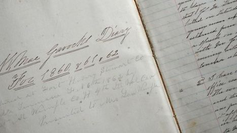 Randal McGavock's missing Civil War diary returns to Tennessee | Tennessee Libraries | Scoop.it