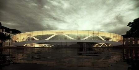 Amsterdam Iconic Pedestrian Bridge Proposal / PLUSRchitecture – IoannisKarrasArchitectureStudio | ARCHIresource | Scoop.it