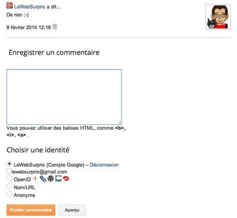Choisir l'emplacement des commentaires sur Blogger | Freewares | Scoop.it