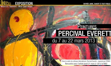 "Exposition ""Percival Everett"" 7 mars 2013 au 22 mars   MdU   Expositions d'art moderne   Scoop.it"