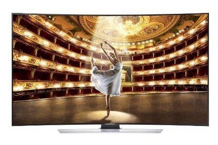 Samsung UN55HU9000 Curved 55-Inch 4K Ultra HD 120Hz 3D Smart LED HDTV | Electronics | Scoop.it