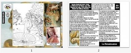 Images Actives : la Naissance de Venus par Botticelli - Ressources-Ecole | Moisson sur la toile: sélection à partager! | Scoop.it