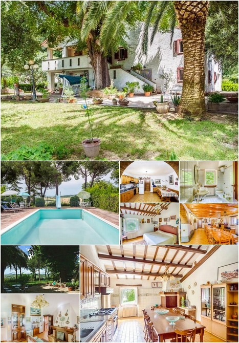 Best Le Marche Properties for Sale: Casale Luisiana, Civitanova Marche | Le Marche Properties and Accommodation | Scoop.it