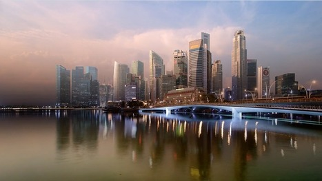 Time-lapse captures fast-changing Singapore skyline over three years | Pourquoi's innovation and creativity digest | Scoop.it
