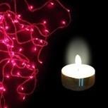 Buy Big Bang Diwali Offer: Pink Rice Lights + 9 Tea lights. | LED Lighting Products | LED Lights | Scoop.it