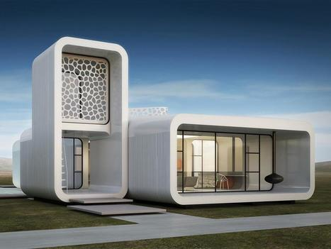 Dubai hat das weltweit erste Bürogebäude aus dem 3D-Drucker | weekly innovations | Scoop.it
