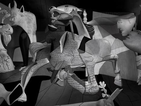 A 3D Tour of Picasso's Guernica   Ressources en ligne pour les collégiens   Scoop.it