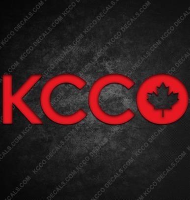 Canada KCCO Sticker - KCCOdecals.com | KCCO Stickers | Scoop.it