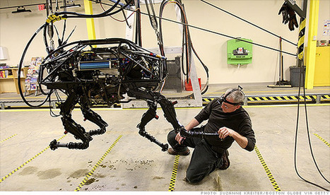 Google buys maker of military robots | Technology News & Updates | Scoop.it