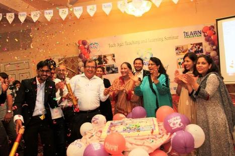 Cake Cutting Ceremony, Karachi, Pakistan for #iEARN25 | iEARN in Action | Scoop.it
