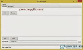 PDF Manager : un logiciel portable pour convertir les images en documents PDF | TIC et TICE mais... en français | Scoop.it