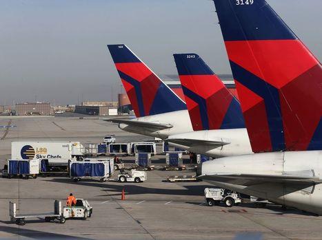 Tous les avions Delta Airlines cloués au sol après une panne informatique | AFFRETEMENT AERIEN KEVELAIR | Scoop.it