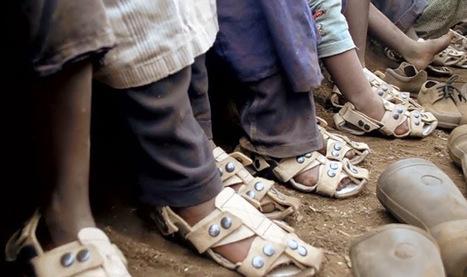 Os sapatos ajustáveis que crescem com os pés | Design | Scoop.it